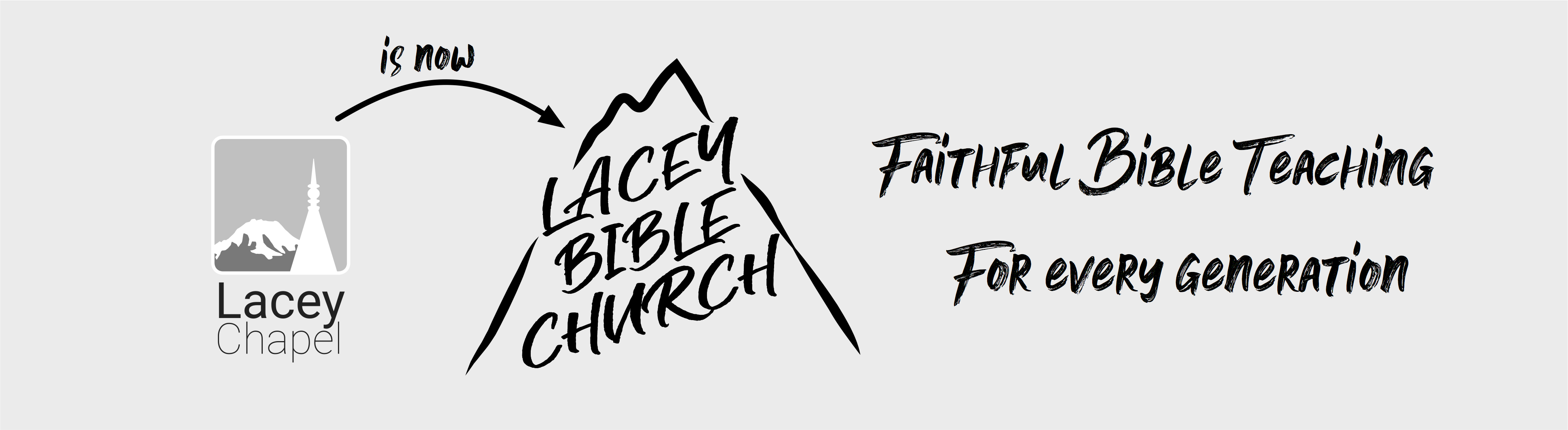 Lacey Chapel is now Lacey Bible Church